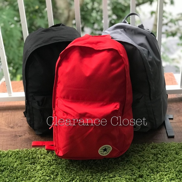 94700a579e08 NWT Converse EDC Poly Backpack CO Red